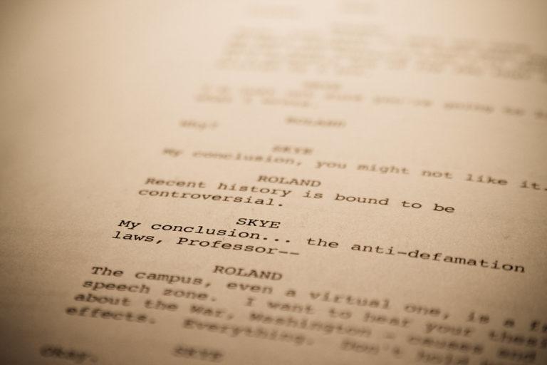 The Art of Screenwriting – Part 5